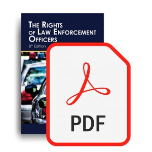 The Rights of Law Enforcement Officers by LRIS book and PDF.